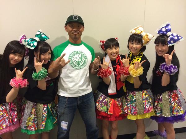 Post image of Травма рестлера NJPW
